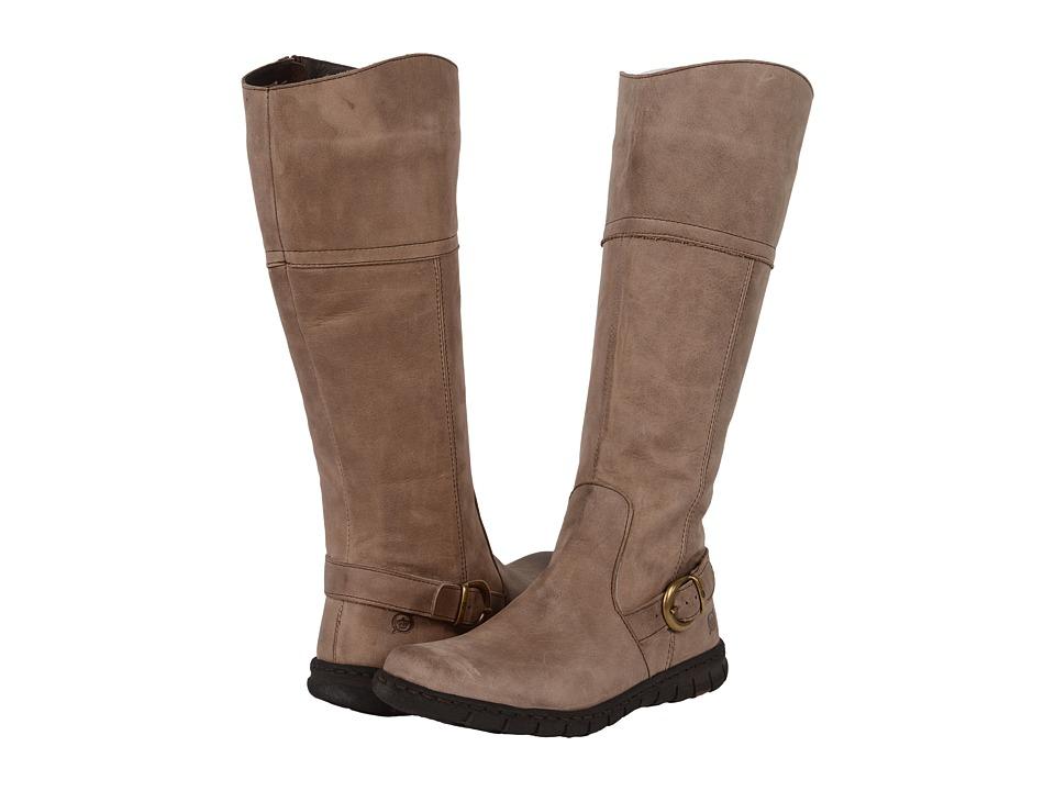 Born - Monaco (Taupe Full Grain Leather) Women's Boots