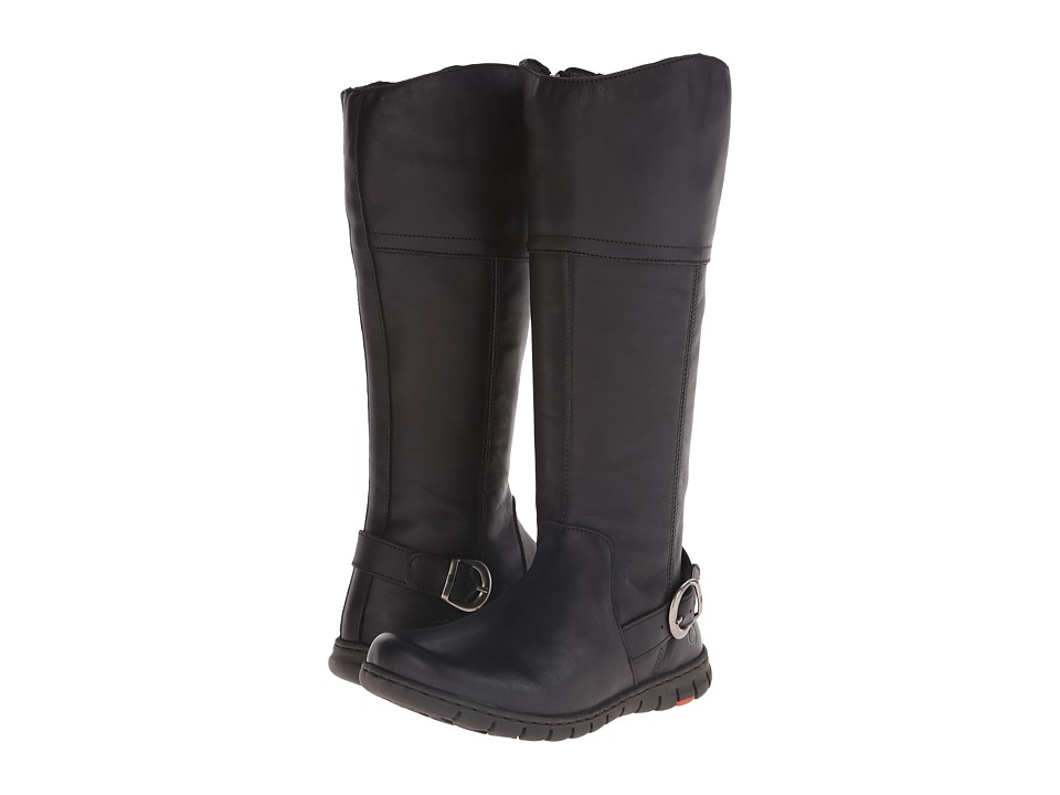 Born - Monaco (Black Full Grain Leather) Women's Boots