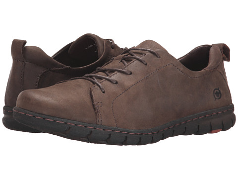 Born - Kester (Cacao/Dark Brown Full Grain Leather) Women's Lace up casual Shoes