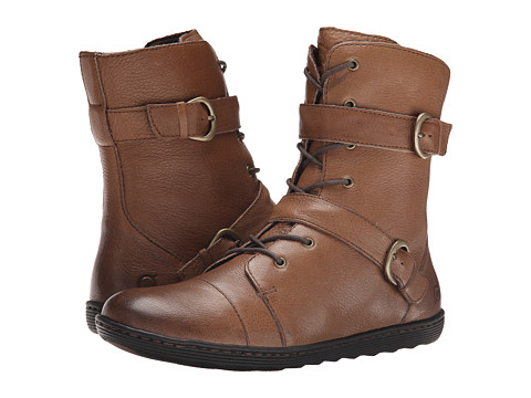Born - Calina (Taupe Full Grain Leather) Women's Lace-up Boots