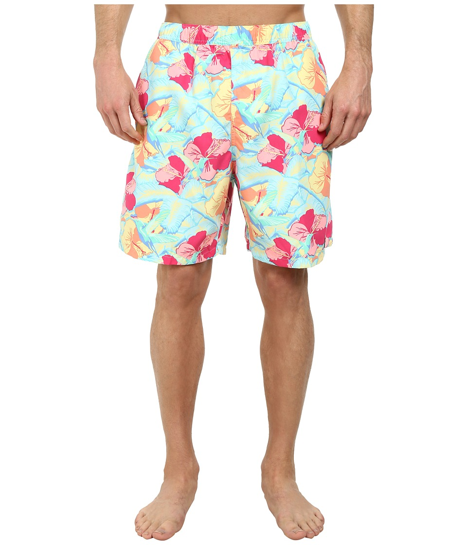Vineyard Vines - Hummingbird Florl Chappy Trunk (Pool Side) Men's Swimwear