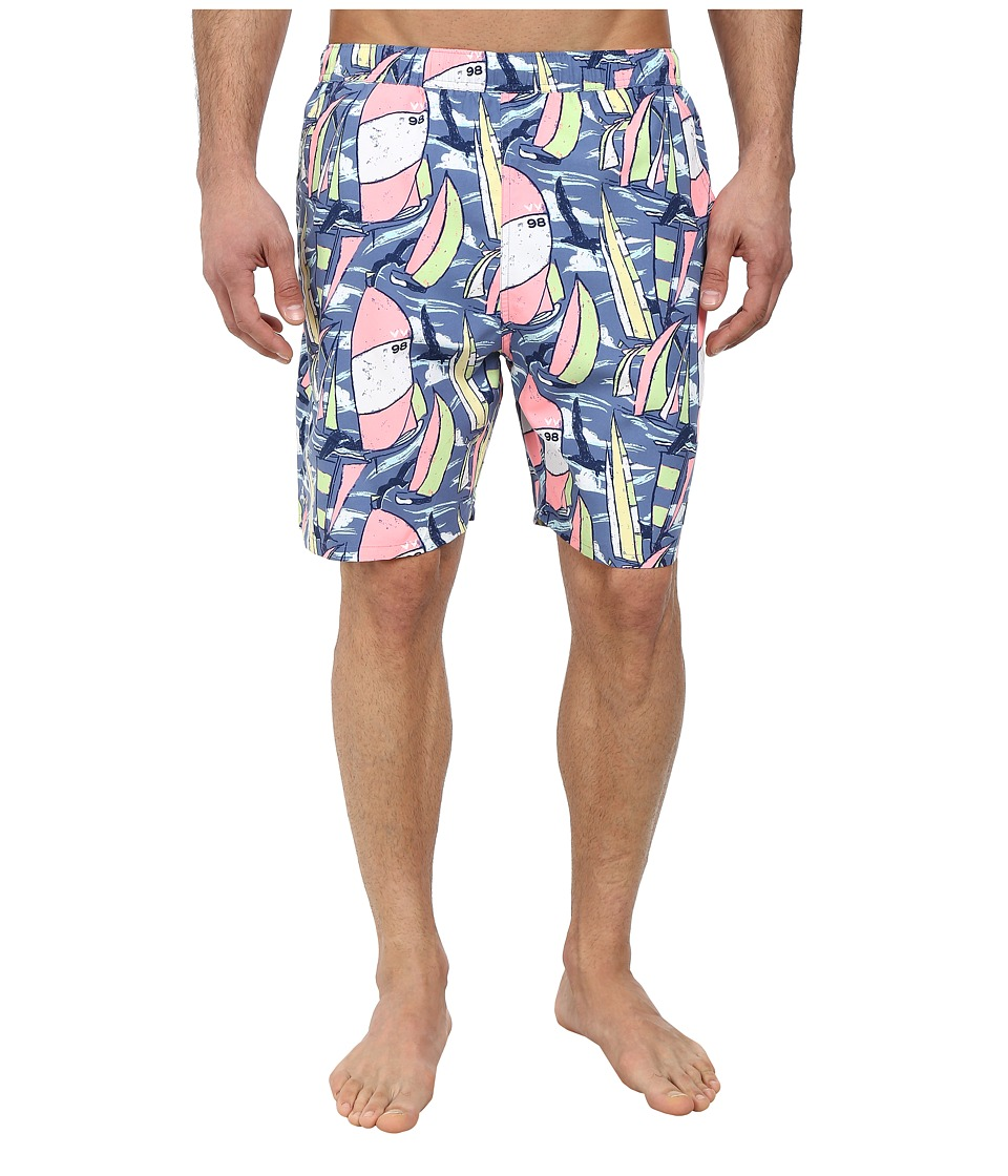 Vineyard Vines - Bird Regatta Chappy Trunk (Flag Blue) Men's Swimwear