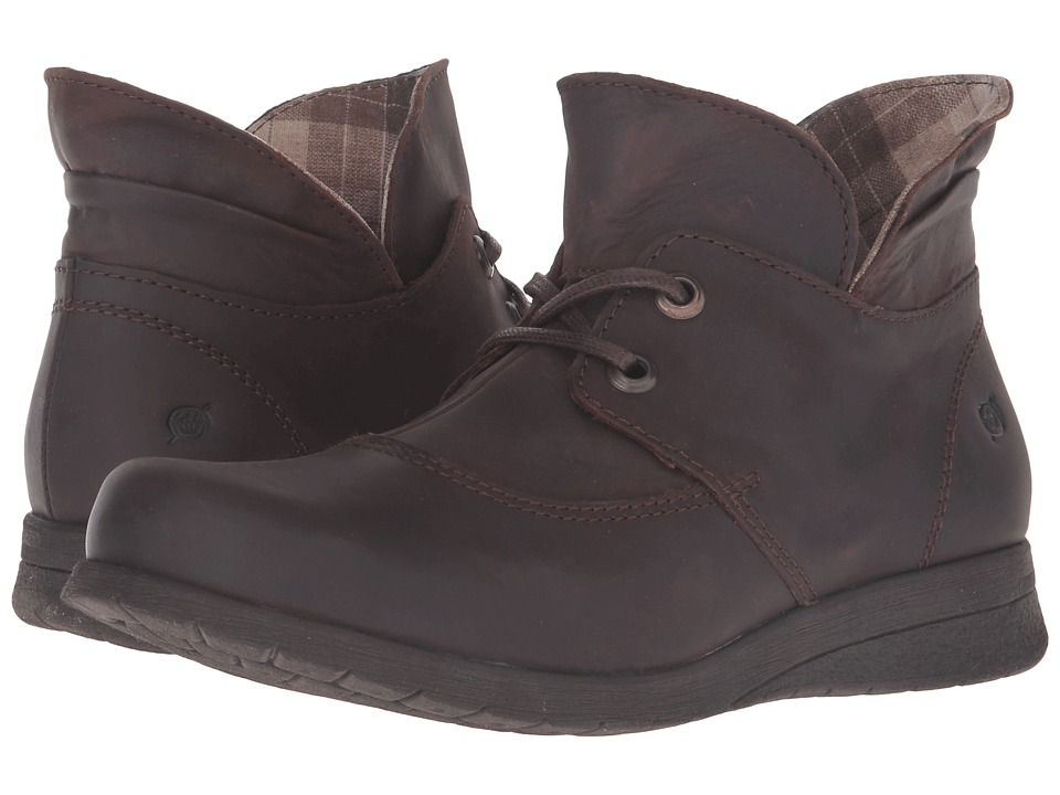 Born Hamids (Cafe/Brown Full Grain Leather) Women