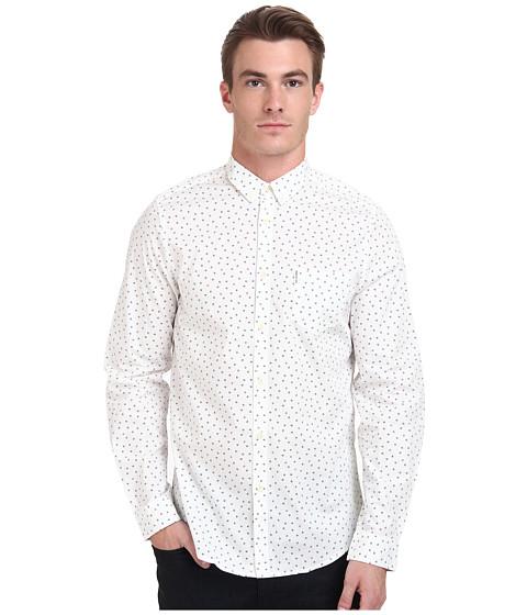Ben Sherman - Long Sleeve Scatter Print Woven MA11388A (Off White) Men