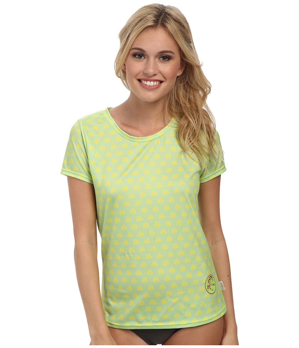 O'Neill - Print Short Sleeve Surf Shirt (Bonita/Apple) Women's Swimwear