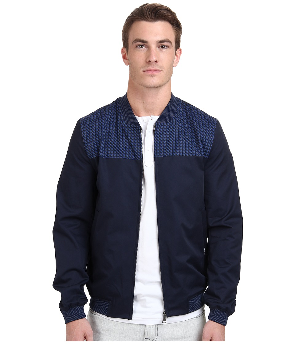 Ben Sherman - Sports Blouson Jacket MF11340A (Navy Blazer) Men's Coat