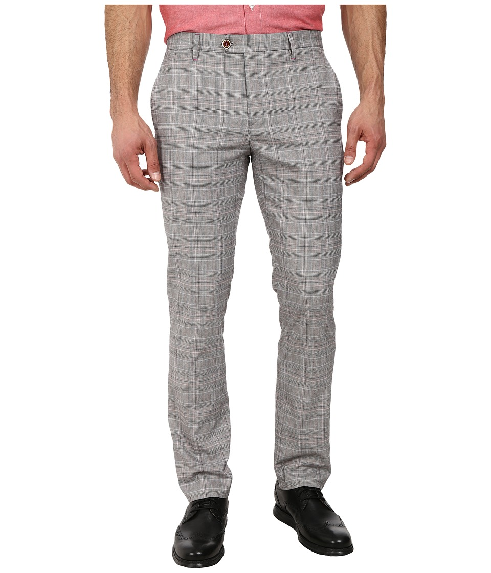 Ted Baker - Havtro Check Trousers (Natural) Men's Casual Pants