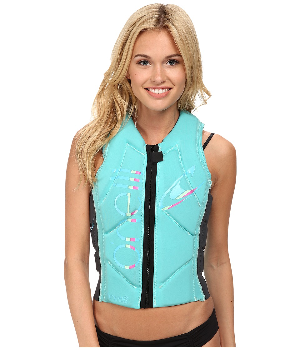 O'Neill - Slasher Comp Vest (Light Aqua/Graph) Women's Vest