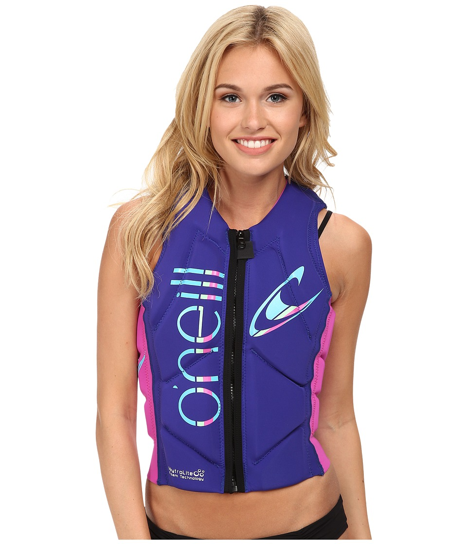 O'Neill - Slasher Comp Vest (Cobalt/Berry) Women's Vest