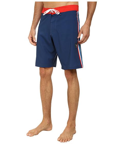 VISSLA - Rhyder Boardshort (Naval) Men's Swimwear