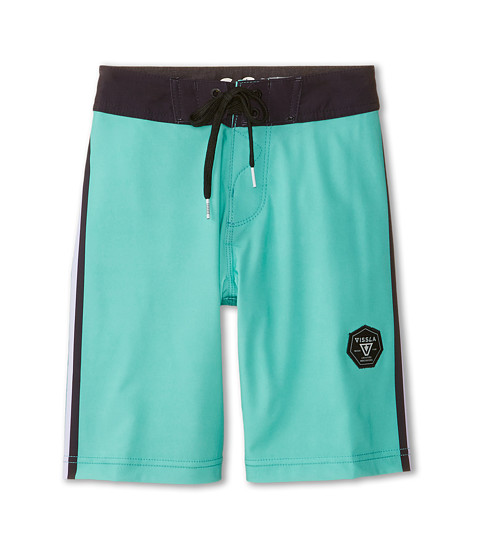 VISSLA Kids - Rhyder Boardshort (Big Kids) (Jade) Boy's Swimwear