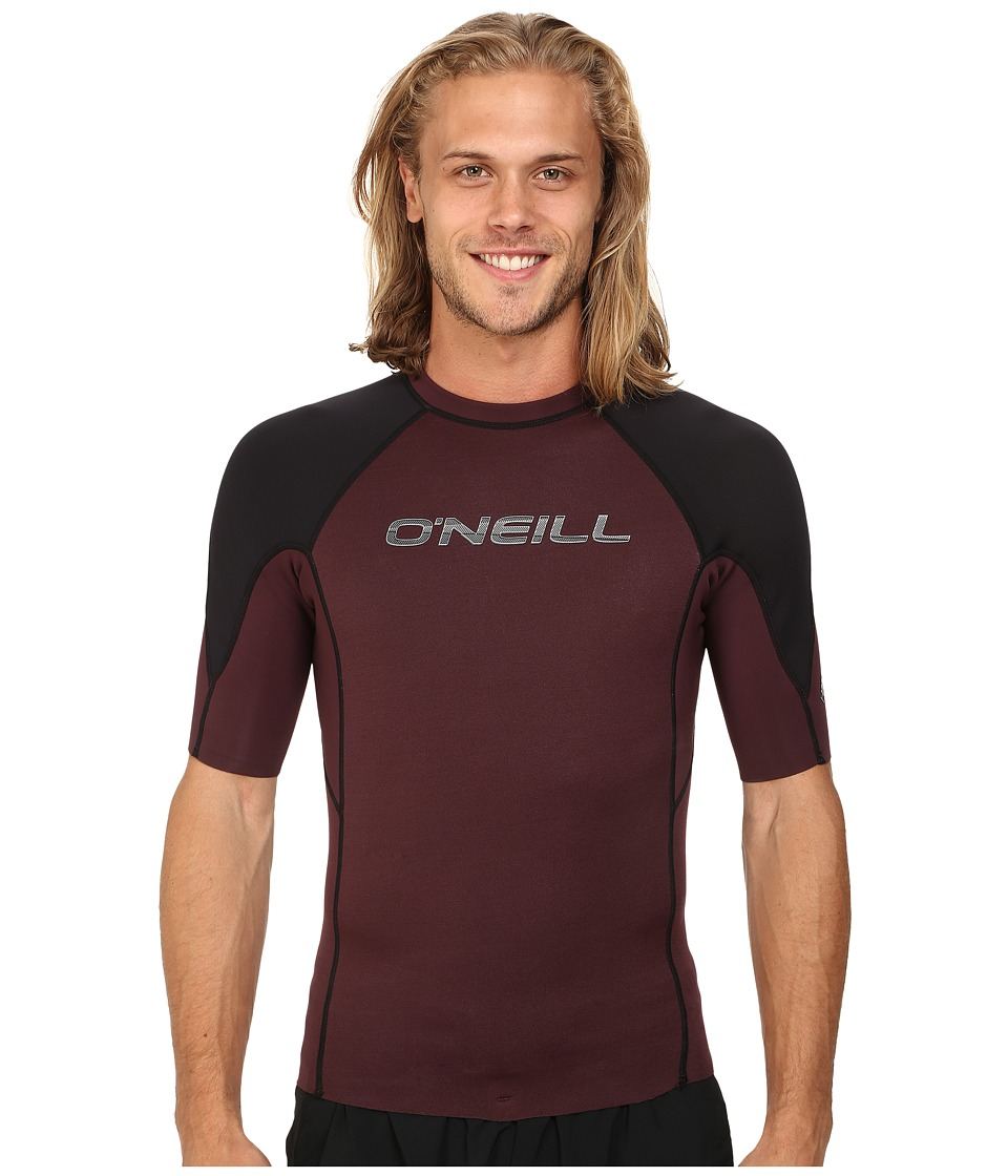 O'Neill - Hammer Short Sleeve Crew (Myers/Black/White) Men's Swimwear