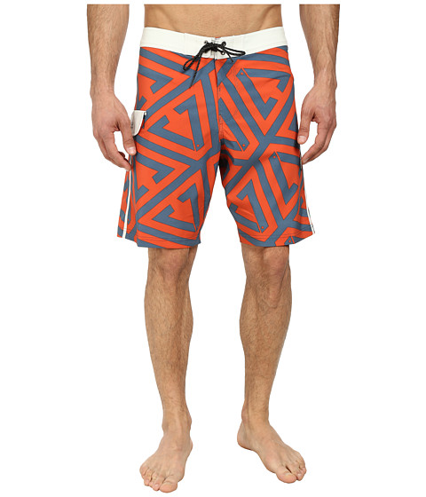 VISSLA - Foundation (Bone) Men's Swimwear