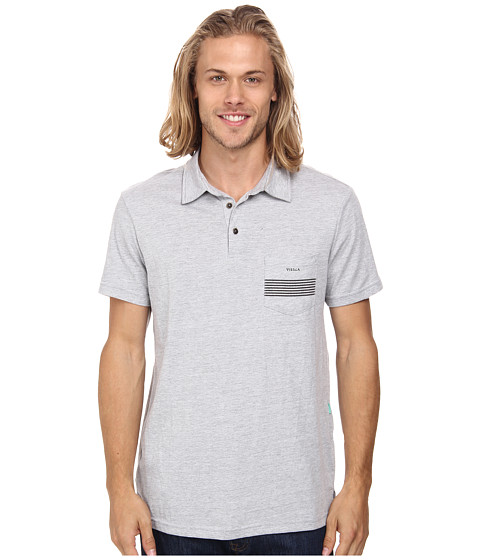 VISSLA - Seven Sets Polo (Vintage White) Men