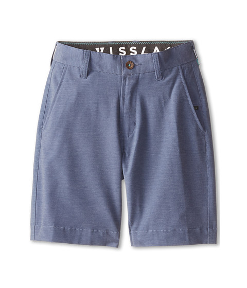VISSLA Kids - High Tide Walkshort (Big Kids) (Naval) Boy's Shorts