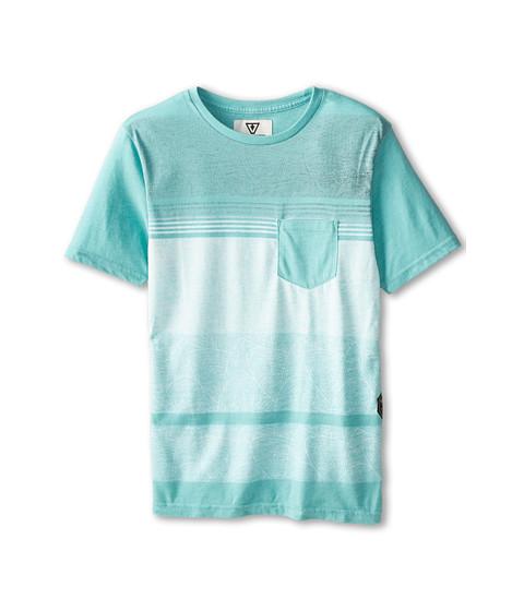 VISSLA Kids - Templates Pocket Tee (Big Kids) (Jade Heather) Boy's T Shirt
