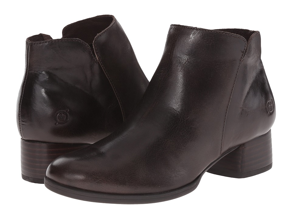 Born Holman (Mushroom/Dark Brown Full Grain Leather) Women