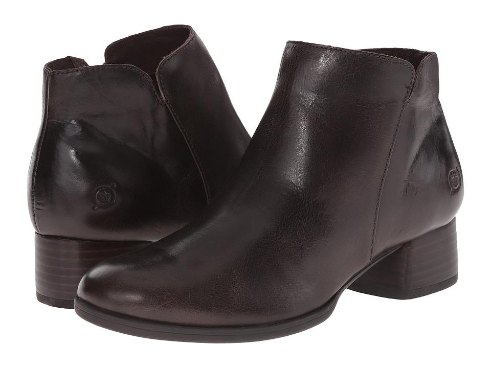 Born Holman (Mushroom/Dark Brown Full Grain Leather) Women