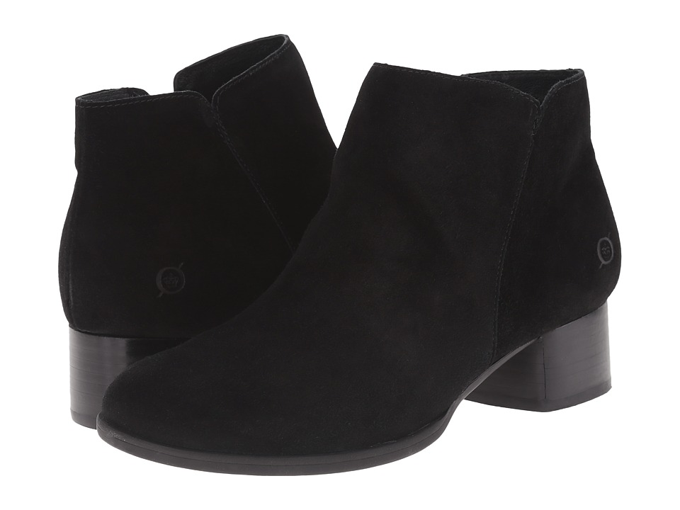 Born - Holman (Black Suede) Women's Boots