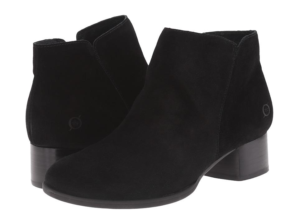 Born - Holman (Black Suede) Women's Boots