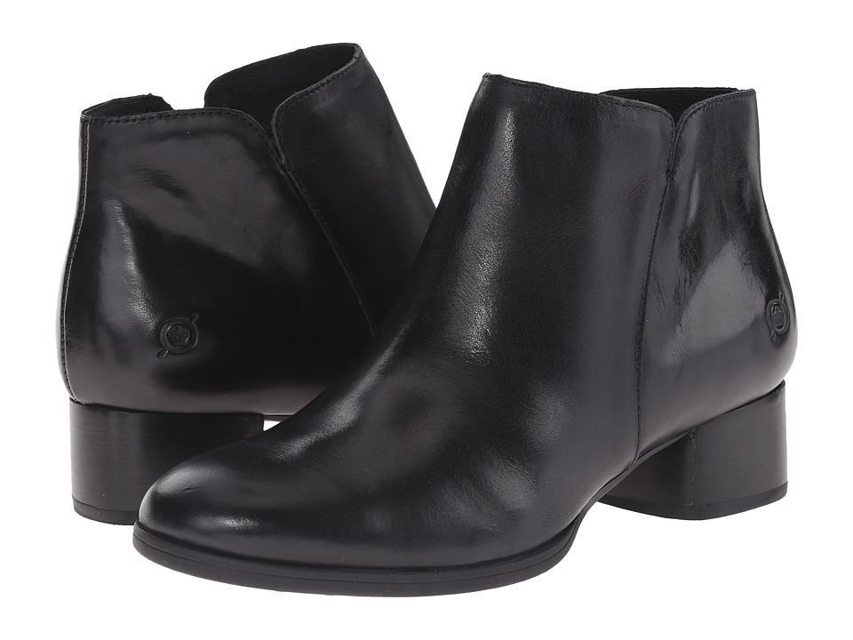 Born - Holman (Black Full Grain Leather) Women