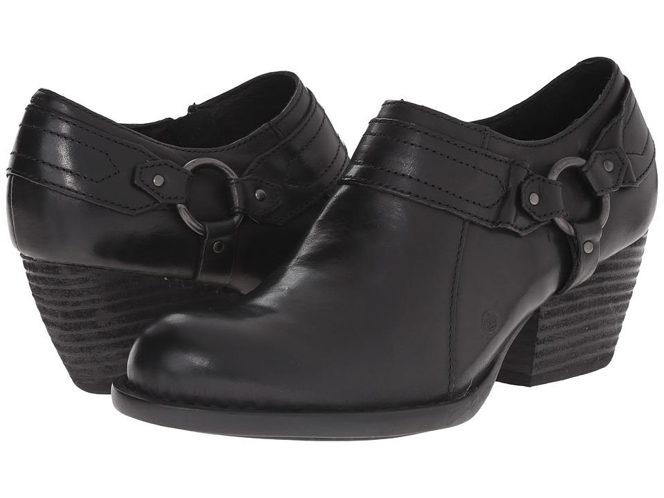Born Peck (Black Full Grain Leather) High Heels