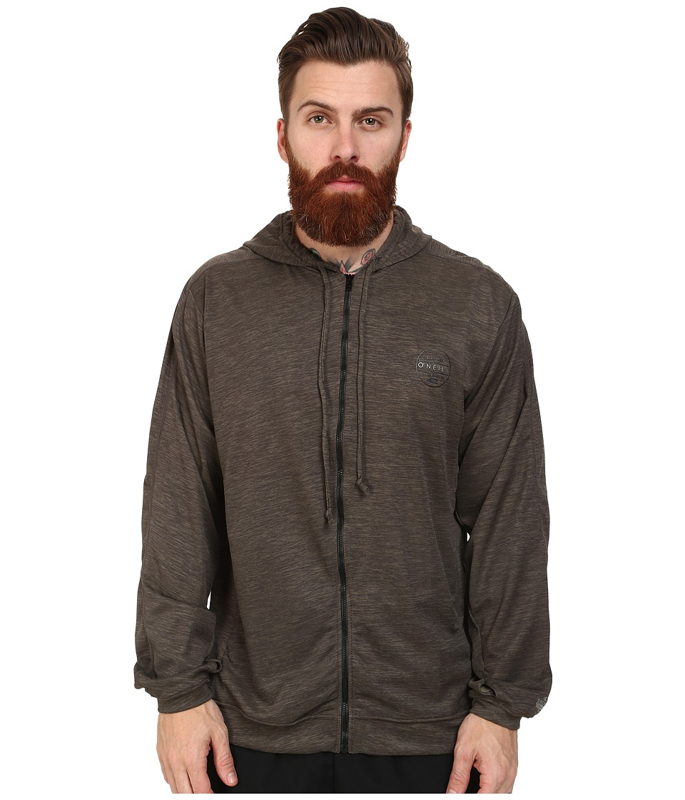 O'Neill - 24-7-X Long Sleeve Hoodie (Brindle) Men's Sweatshirt
