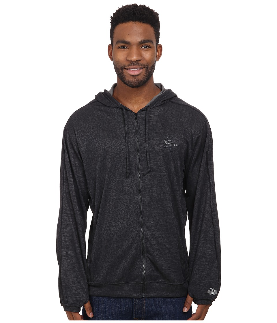 O'Neill - 24-7-X Long Sleeve Hoodie (Black) Men's Sweatshirt