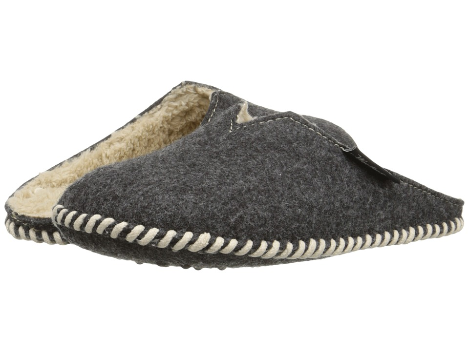 Woolrich - Felt Mill Scuff (Black) Women's Slippers