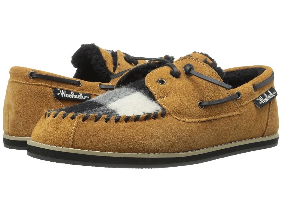 Woolrich - Austin Potter (Spice/Black/White Buffalo Check Wool) Men's Slippers