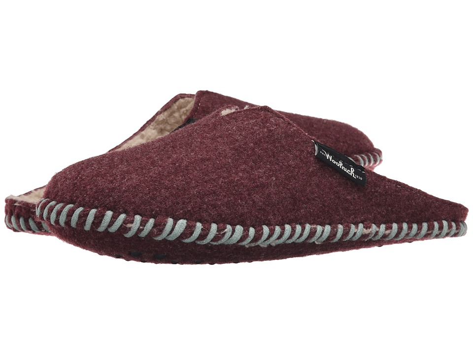 Woolrich - Felt Mill Scuff (Port) Women's Slippers