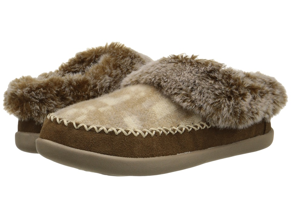 Woolrich - Dove Creek (Chinchilla/Camo Wool) Women's Slippers