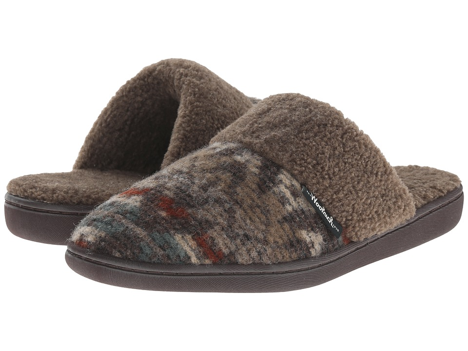 Woolrich - Kettle Creek (Java/Blanket Wool) Women's Slippers