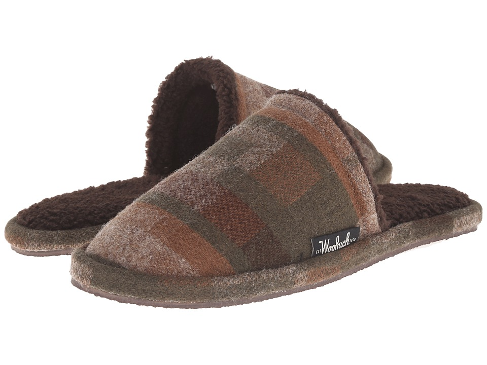 Woolrich - Chatham Slide (Camo Wool) Men's Slippers