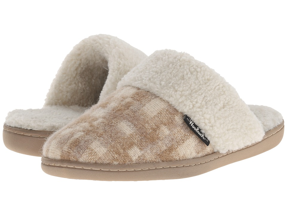 Woolrich - Kettle Creek (Chinchilla/Camo Wool) Women's Slippers
