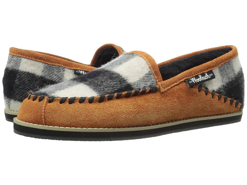 Woolrich - Austin Potter Slide (Spice/Black/White Buffalo Check Wool) Men's Slippers