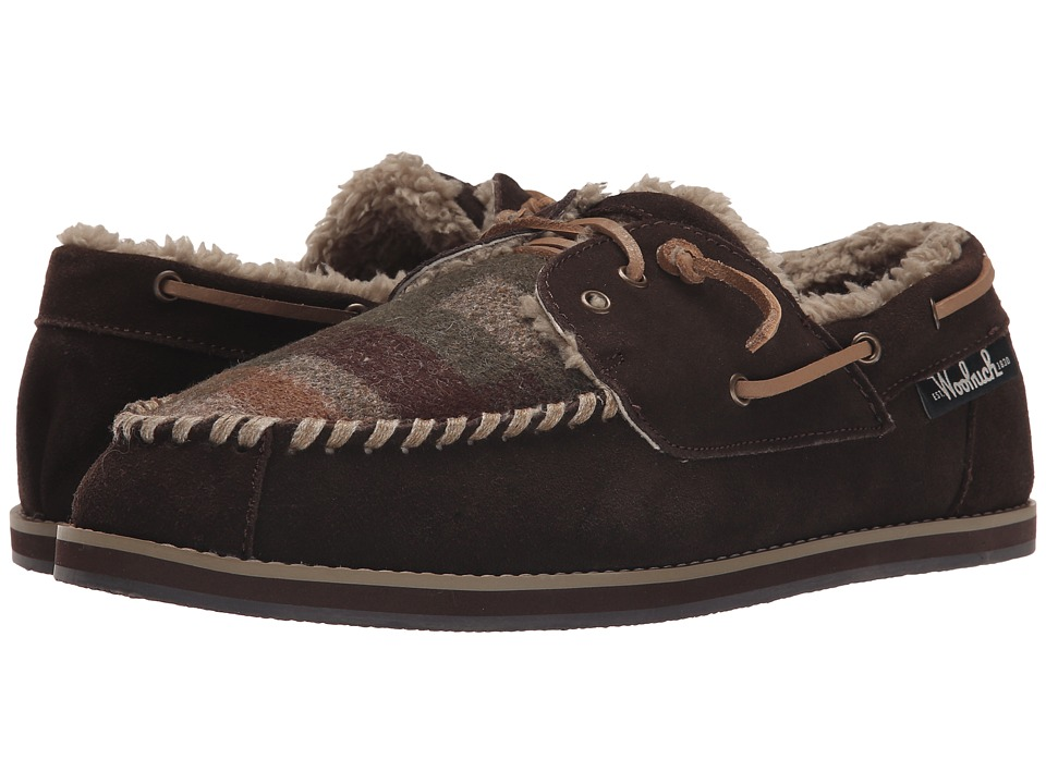Woolrich - Austin Potter (Java/Camo Wool) Men's Slippers