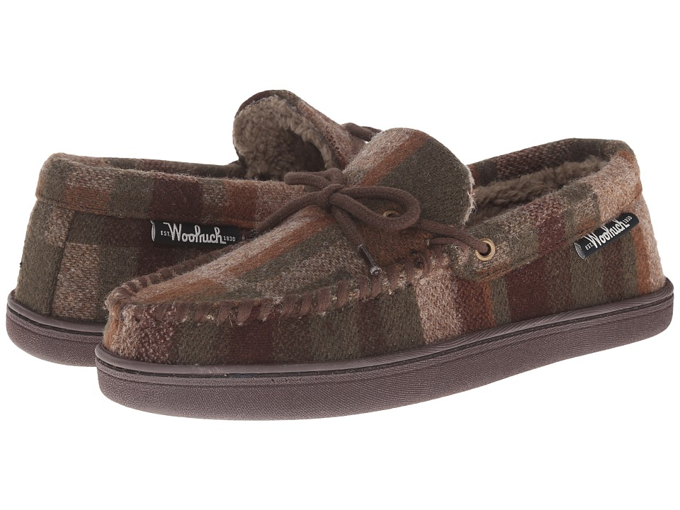 Woolrich - Potter County Wool (Camo Wool) Men's Slippers