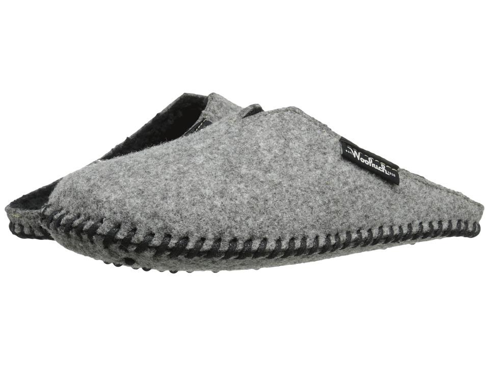 Woolrich - Felt Mill Scuff (Steel Gray) Men's Slippers