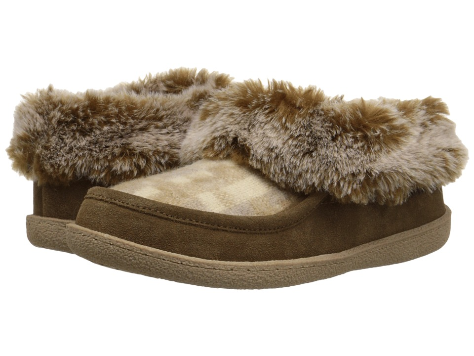 Woolrich - Autumn Ridge (Chinchilla/Camo Wool) Women's Slippers