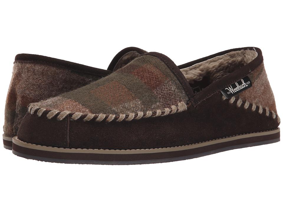 Woolrich - Austin Potter Slide (Java/Camo Wool) Men's Slippers