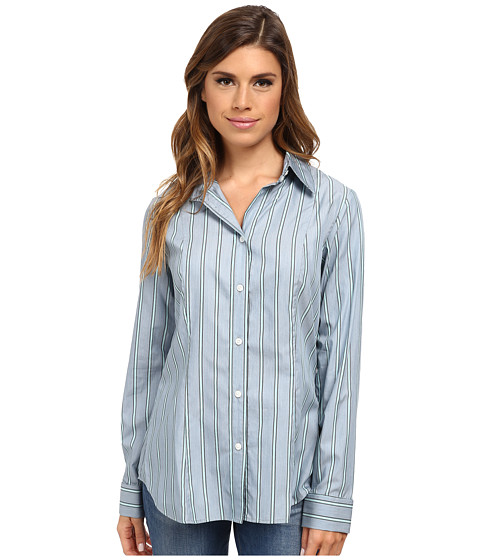 Pendleton - Sara Stripe Shirt (Moroccan Blue Stripe Shirting) Women