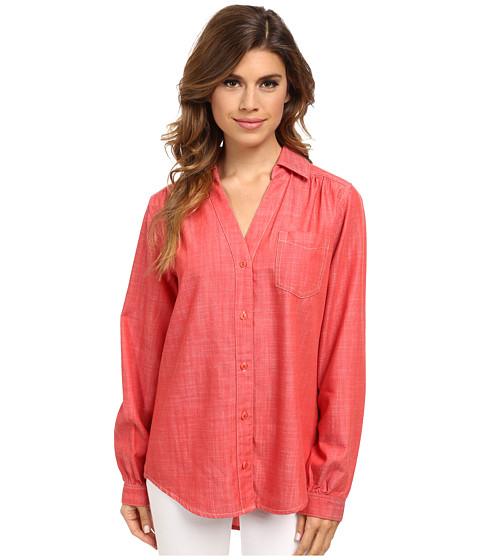 Pendleton - Reverie Shirt (Cranberry) Women's Long Sleeve Button Up