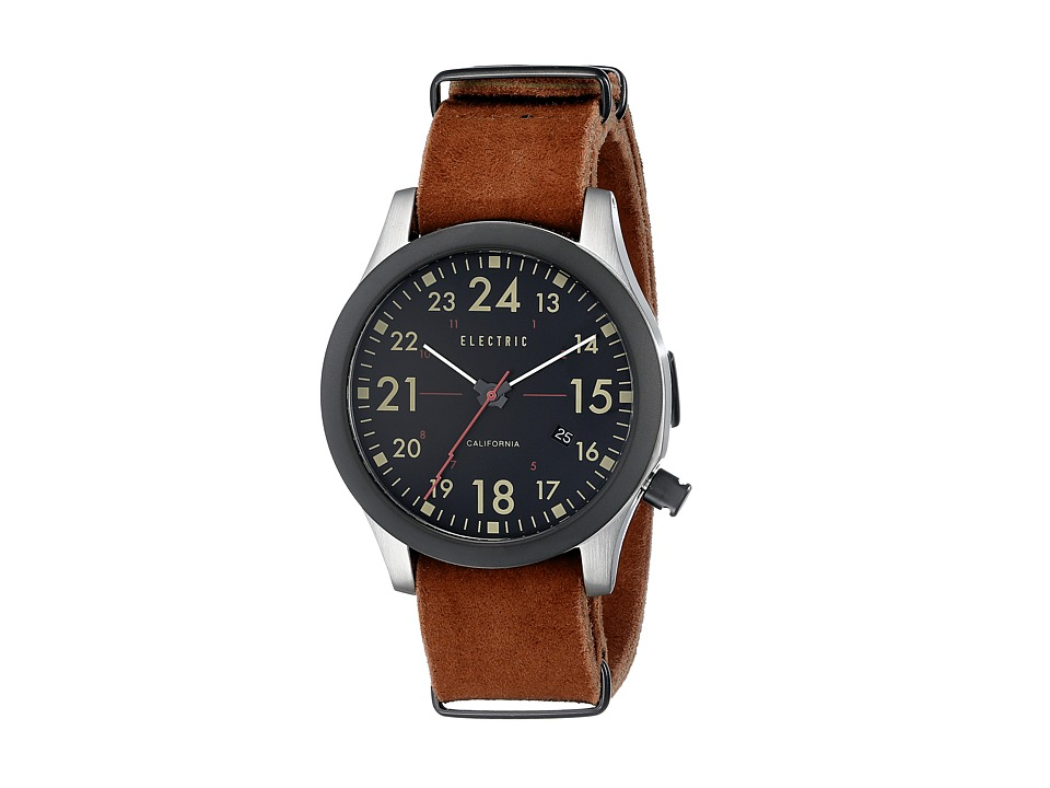 Electric Eyewear - FW01 Nato (Black/Brown) Watches