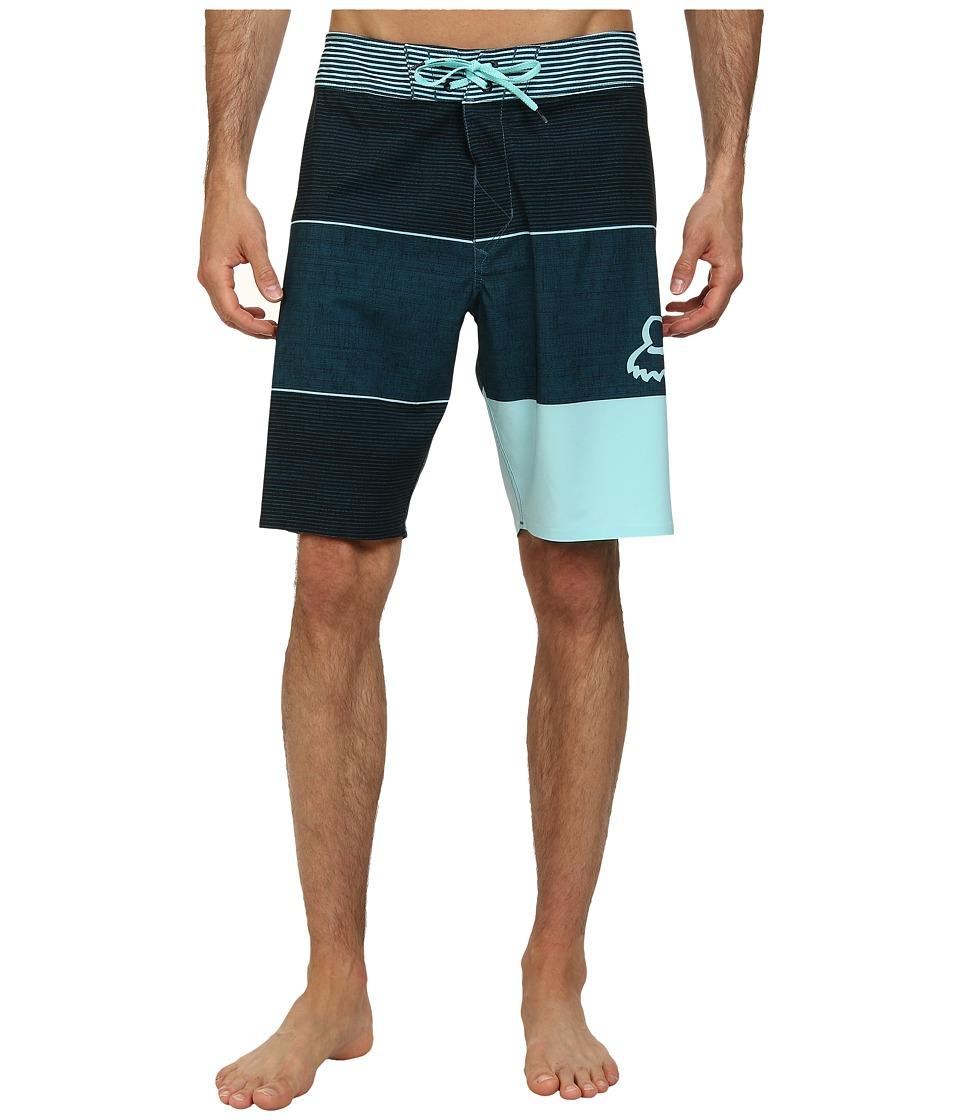 Fox - Horizon Boardshorts (Ice Blue) Men's Swimwear