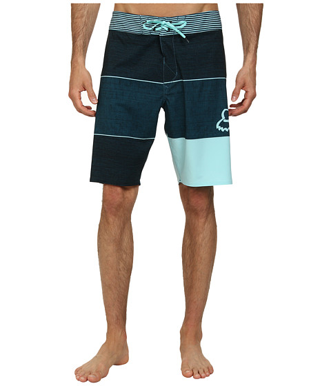 Fox - Horizon Boardshorts (Ice Blue) Men's Swimwear