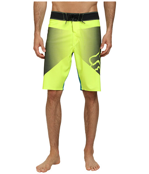 Fox - Barranca Boardshorts (Flourescent Yellow) Men's Swimwear