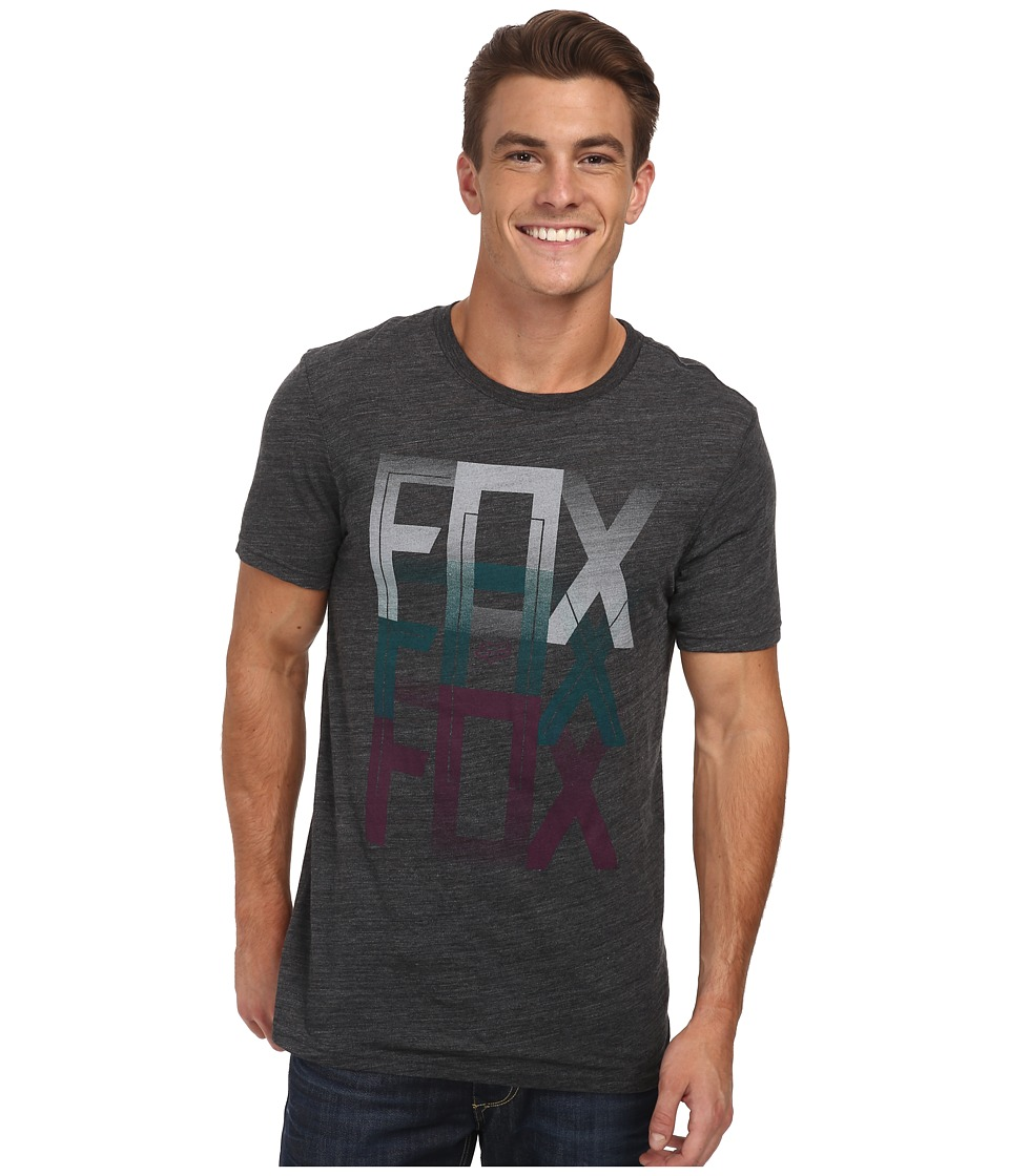 Fox - Dalton Short Sleeve Premium Tee (Black) Men's Short Sleeve Pullover