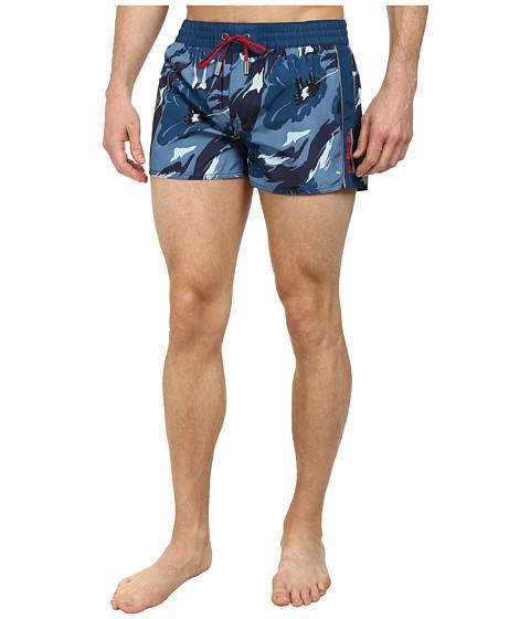 Diesel - Coralrif-E Shorts AAHK (Navy Floral) Men's Underwear