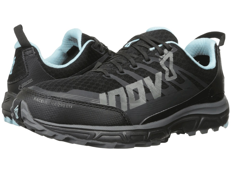 inov-8 - Race Ultra 290 GTX (Black/Grey/Blue) Women's Running Shoes